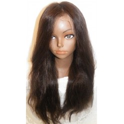 Lace wig European hair Natural Straight  20inch