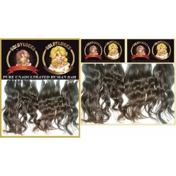 14inch Unadultrated Human Hair  Loosewave