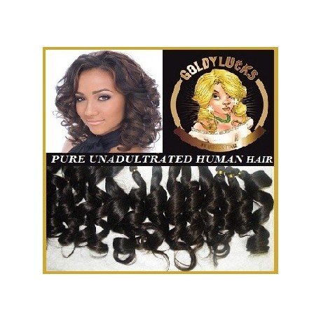 10inch Unadultrated Human Hair Natural Black