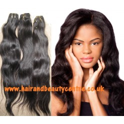 Brazilian virgin hair  18 to 24inch Natural Straight