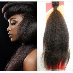 kinky Straight 12 to 18inch Virgin Hair