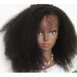 Full Lace Wig  Afro kinky 14inch natural colour 1b