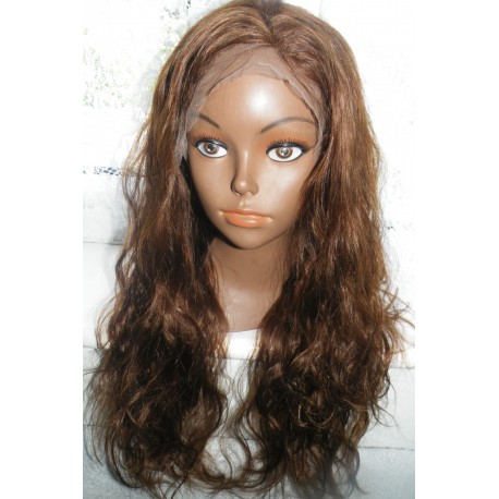 Full Lace Wig  Indian Remy Body Wavy 18inch colour 4