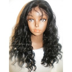 Synthetic hair lace front wig in Curly 18inch colour 1b