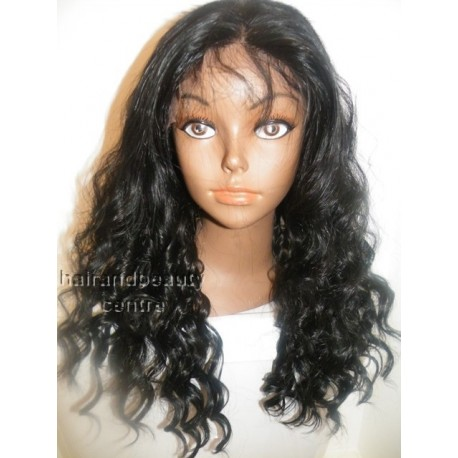 Synthetic hair lace front wig in Curly 18inch colour 1