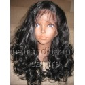 Synthetic hair Lace Front wig in Body curl colour 1b 20inches