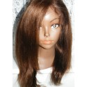 No glue Lacefront Wig Yaki Straight 14inch colour 3
