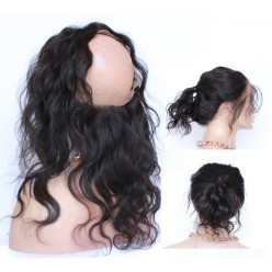 360 Circular Lace Frontal Natural bodywave