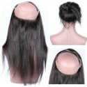 360 Circular Lace Frontal Natural straight 18inch