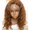 Full lace wig malaysian Remy Waterwave 14inch