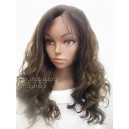 Synthetic hair lace front wig in Body Wavy colour 4/30 16inches