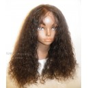 Full Lace 100% Brazilian Kinky 1b 20inches