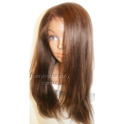 Full Lace Wig Indian Remy Yaki Straight 18inch colour 4 and 30