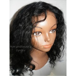 Full Lace Wig Deep Wave 12inch  colour 1
