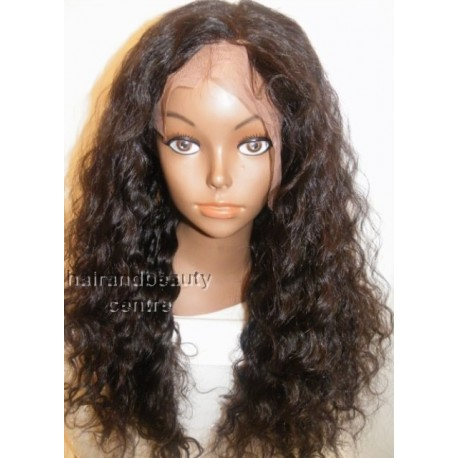 Full lace Wig 100% Brazilian Curly Virgin Hair 18inch