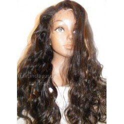 Full Lace Wig Body wave  18inch Colour 1B/30