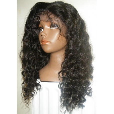 Lace Front Wig Brazilian Virgin hair curl 16inch