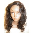 Full Lace Wig Malaysian Body wave  14inch