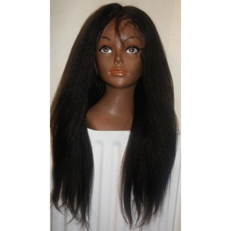 Lace Wig Kinky Straight 20inch