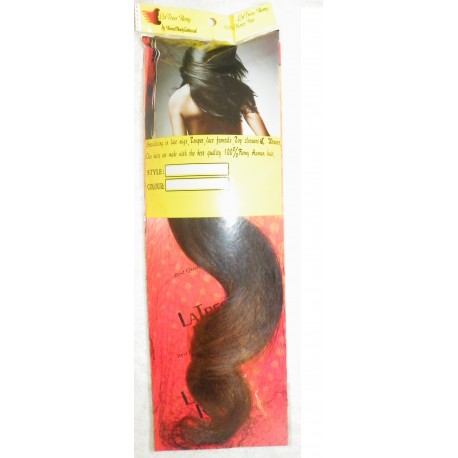 Peruvian Natural Straight 18inch Two Tone