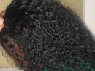 How to put on a lace wig 6