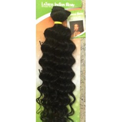Indain Remy Curly  10 - 16inch color 1b