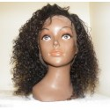 Full lace Wig Tight curls 12inch 1b