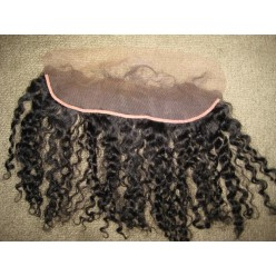 Lace frontal kinky curl in 14 inches