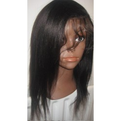 No glue Lace Wig Yaki Straight 12inch