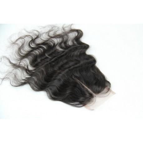 Top Closure Indian virgin hair loosewave 16inch