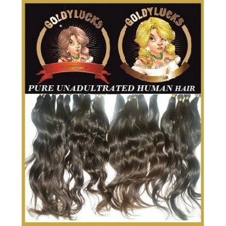 12inch Unadultrated Human Hair  Loosewave