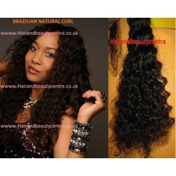 Brazilian Natural curl Handtied Weft  12 to 18inch
