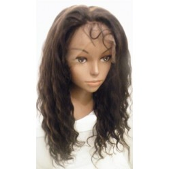 Full Lace Wig Deep Wave 18inch  colour 1b/30
