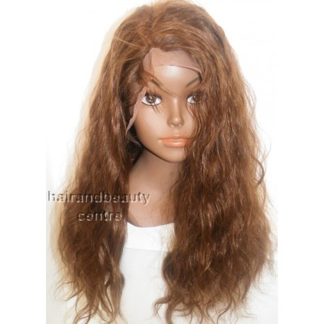 No glue Lace wig Indian Remy bodywave 18inch