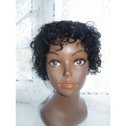 Indian Remy hair col 1b similar to Jocelyn Hernandez Wig