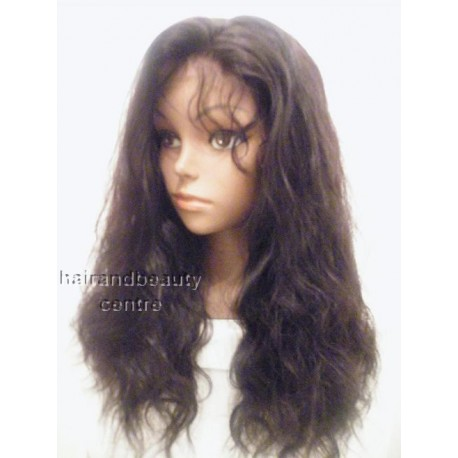 Lace Front Wig Indian Remy Bodywave 16inch 1b