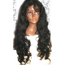 Thin skin undetectable Scalp Peruvian Virgin hair Wavy  26inch 10% density