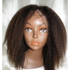 Full Lace Wig Italian Yaki Lace Wig 10inch  colour 3