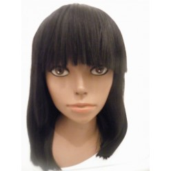 Light Yaki Straight Full Lace wig in 12inches