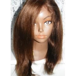 No glue Lacefront Wig Yaki Straight 14inch colour 3