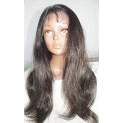 No Glue Full Lace Wig  20inch colour 2 Natural straight