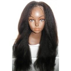 Silktop Full lace wig Italian Yaki Kinky Straight 22inch