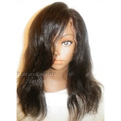 Lace wig Brazilian hair Natural Straight  14inch