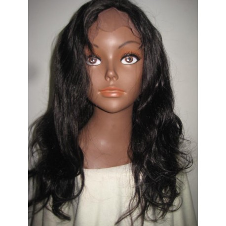 Full Lace WigSilky Straight 16inch 1B