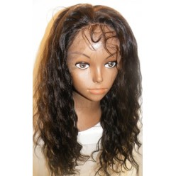 Full Lace Wig Deep Wave 16inch  colour 1b/30