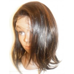 Full lace wig silky straight  12inch 1b/30