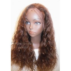Full Lace Wig Deep Wave 18inch  colour 4