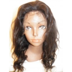 Full Lace Wig Malaysian Virgin Body wave  14inch