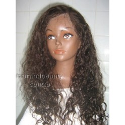 Full Lace Wig  Curly Wig 18inches colour 4