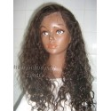 Full Lace Wig  Curly Wig 18inches colour 3